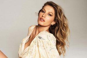 Modelo brasileira Gisele Bündche